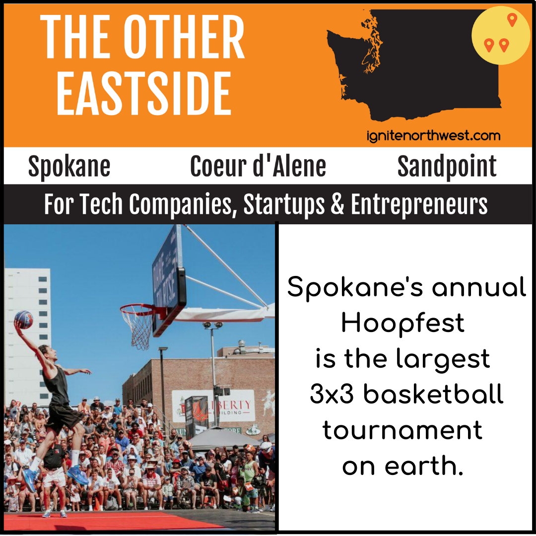 Spokane's annual Hoopfest is the largest 3x3 basketball tournament on Earth