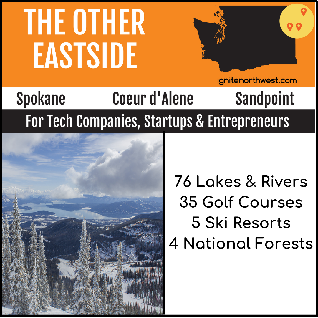 76 lakes & rivers, 35 golf courses, 5 ski resorts, and 4 national forests