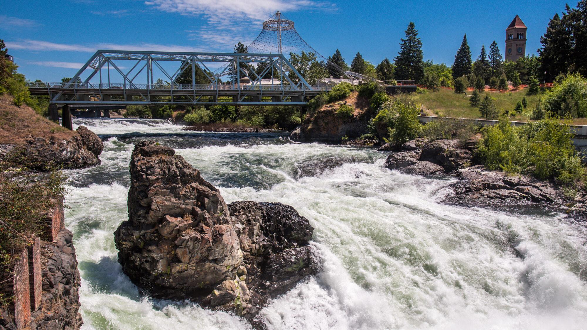 Spokane River Downtown Rapids
